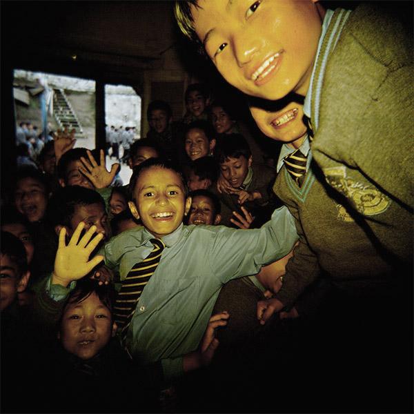 01-INDIA. Gangtok (Sikkim Orientale), interno di una scuola