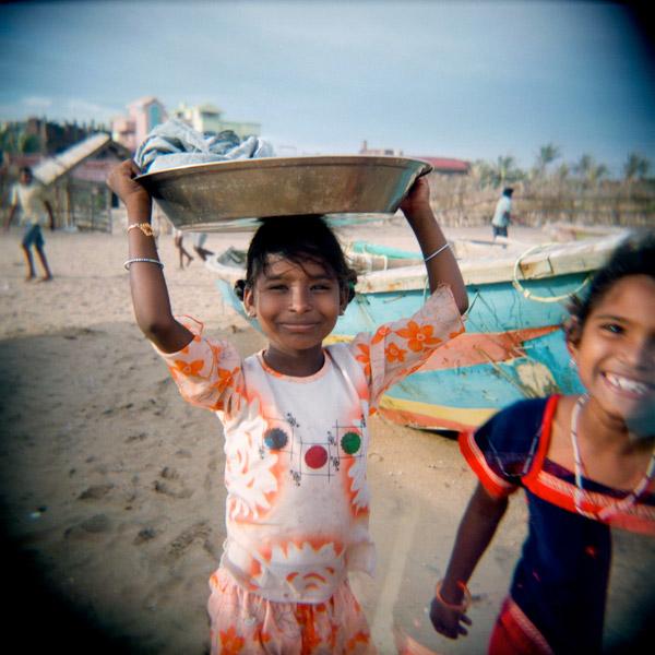 06-INDIA. Puri (Orissa), la spiaggia