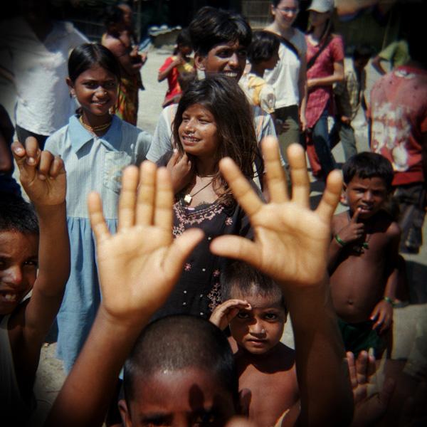 11-INDIA. Siliguri (West Bengala) comunita' di spaccapietre